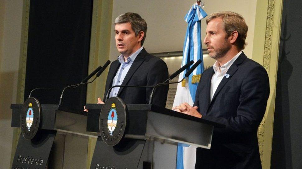 Peña y Frigerio brindarán detalles de la nueva propuesta sobre Ganancias