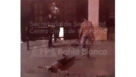 VIDEO: Un hombre golpeó a otro a la salida de un boliche y lo desmayó