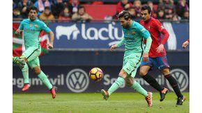 Lionel Messi la pica