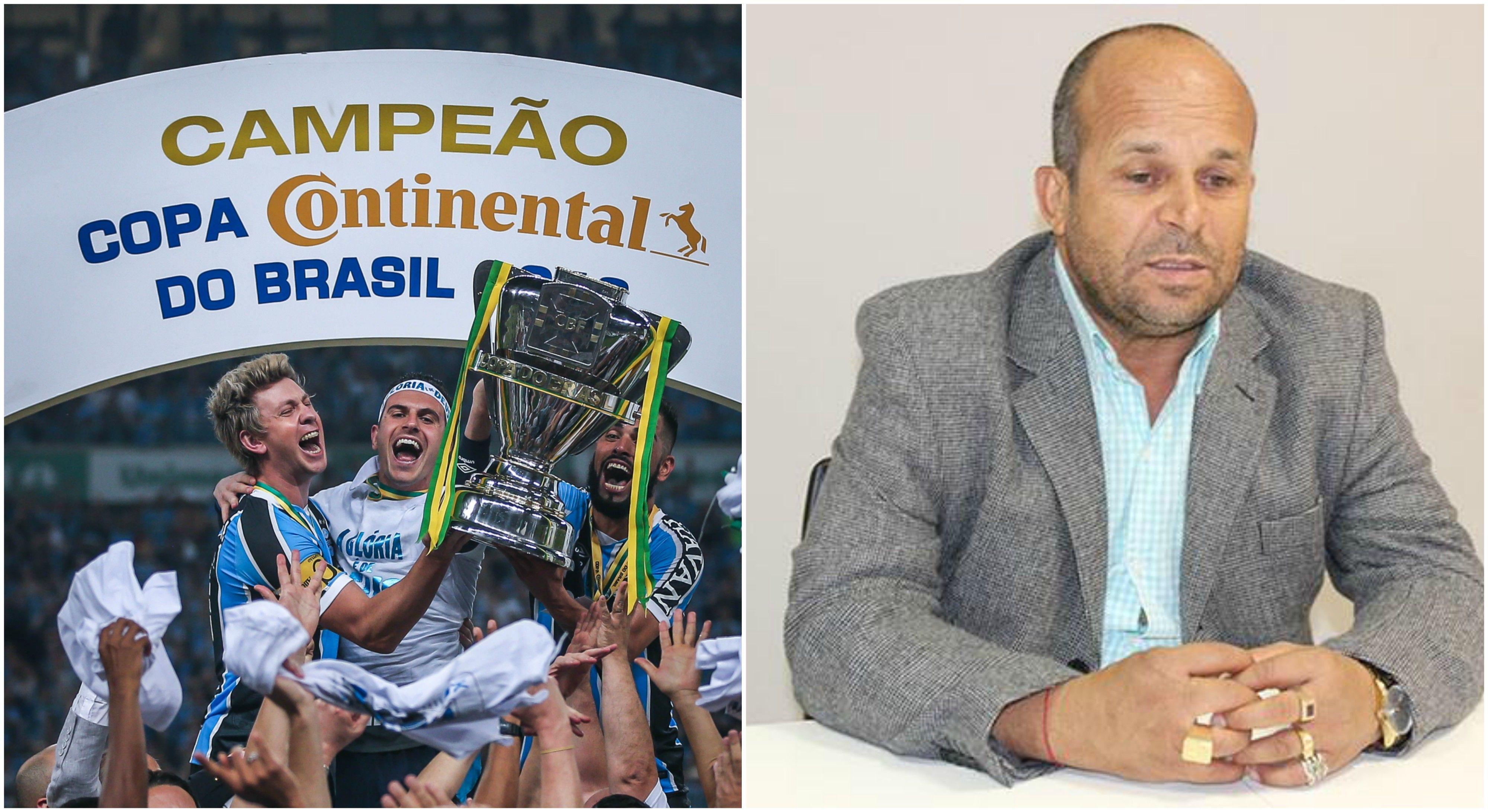 Gremio campeón de la Copa de Brasil y Carlinhos Vidente