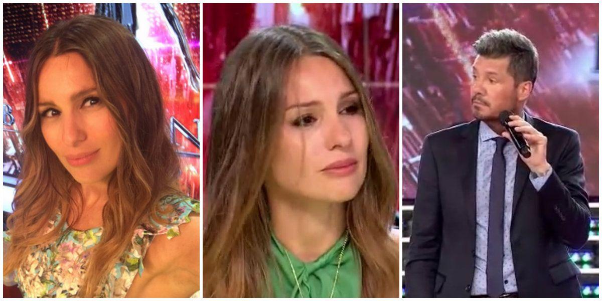Pamptita habló del cruce con Marcelo Tinelli.