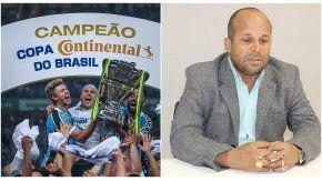 Gremio campeón de la Copa de Brasil y Carlinhos Vidente, que esta vez no acertó la predicción