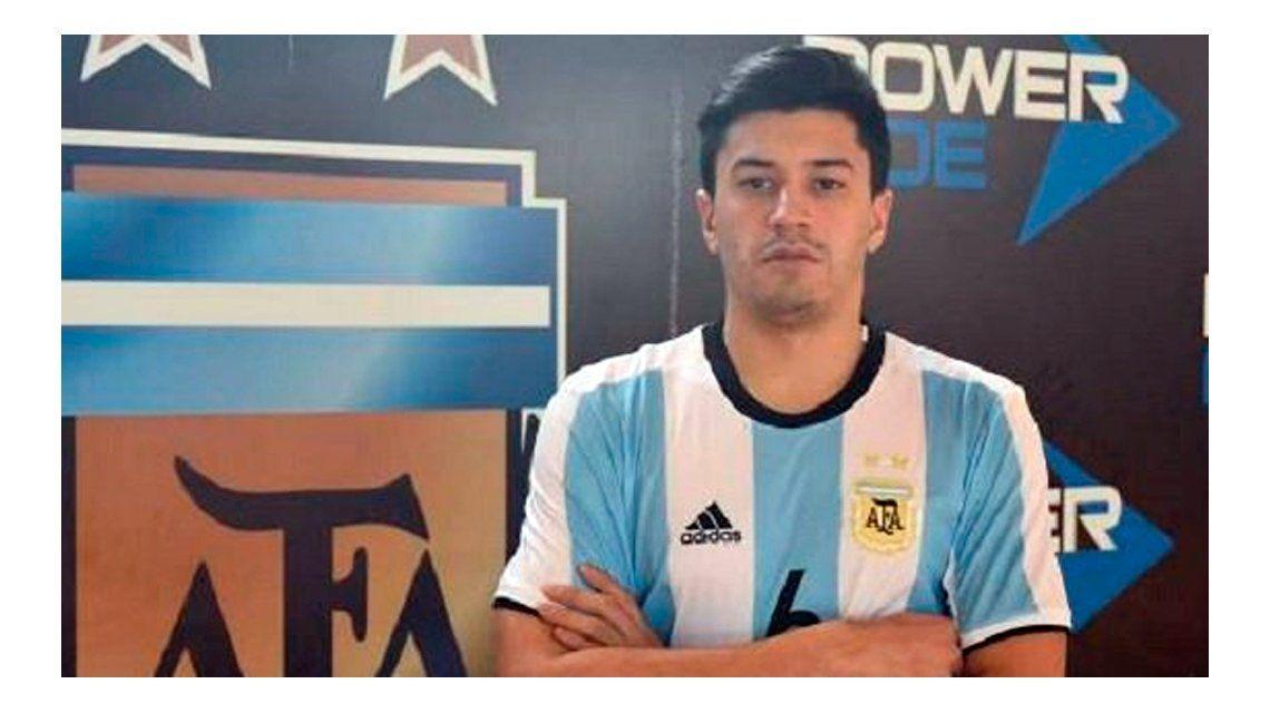 La AFA suspendió la final de futsal por la muerte de Matías Kruger