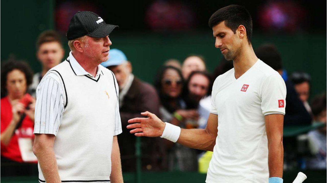 Boris Becker fue el entrenador de Djokovic durante tres años