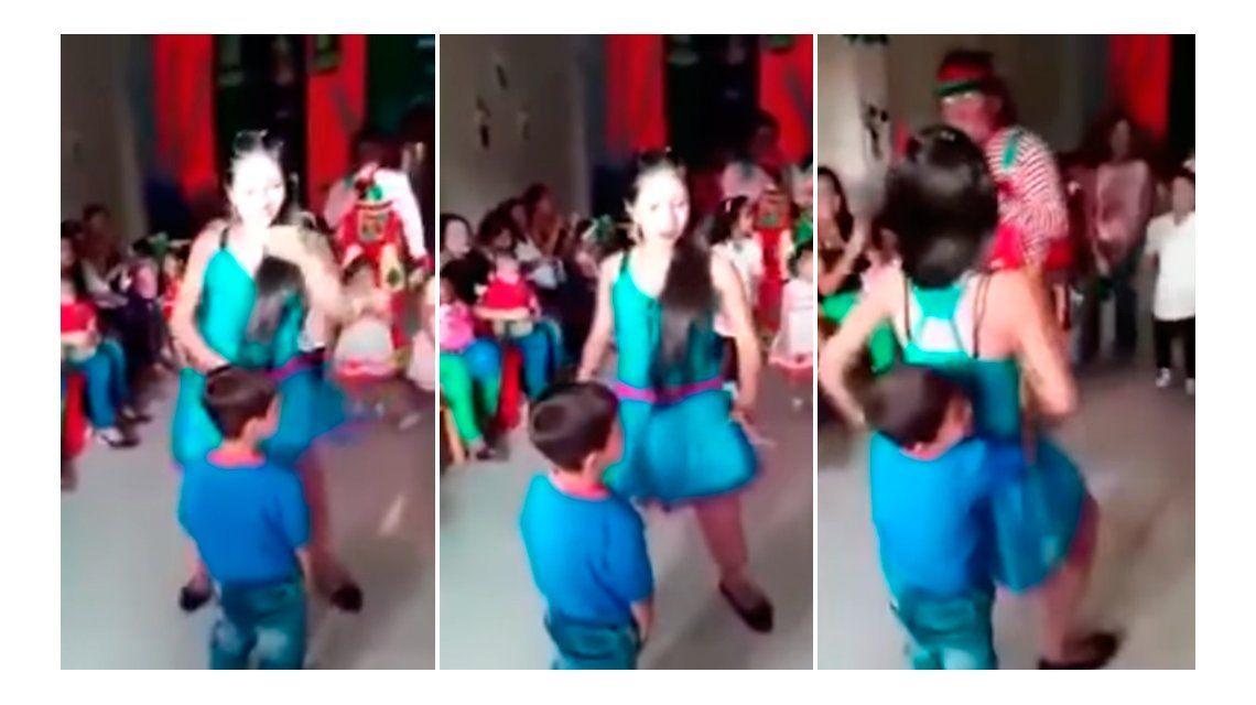 El polémico baile de dos jóvenes que causó indignación