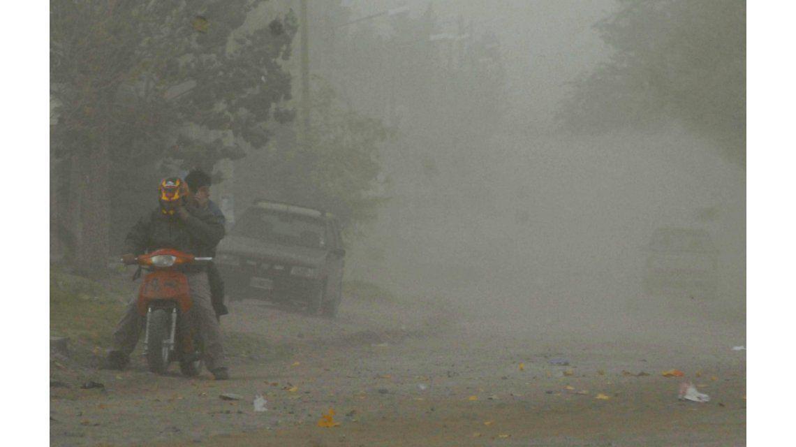 Ráfagas de viento en Neuquén