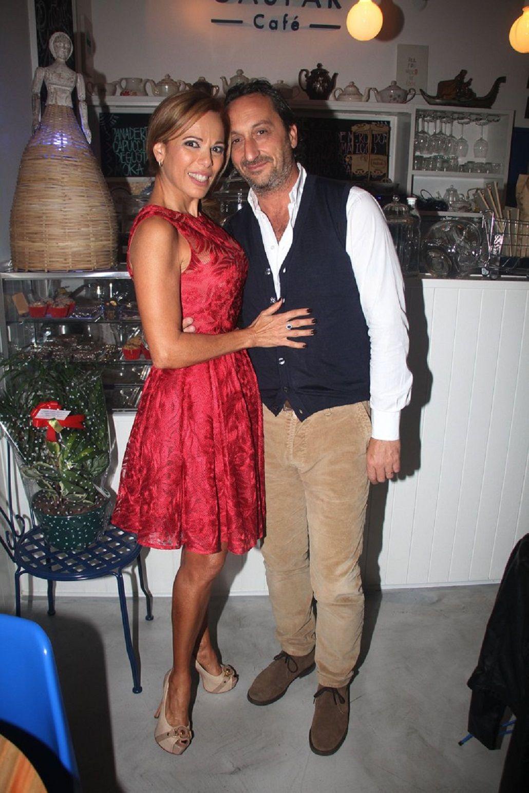 Iliana Calabró y Antonello Gandolfo