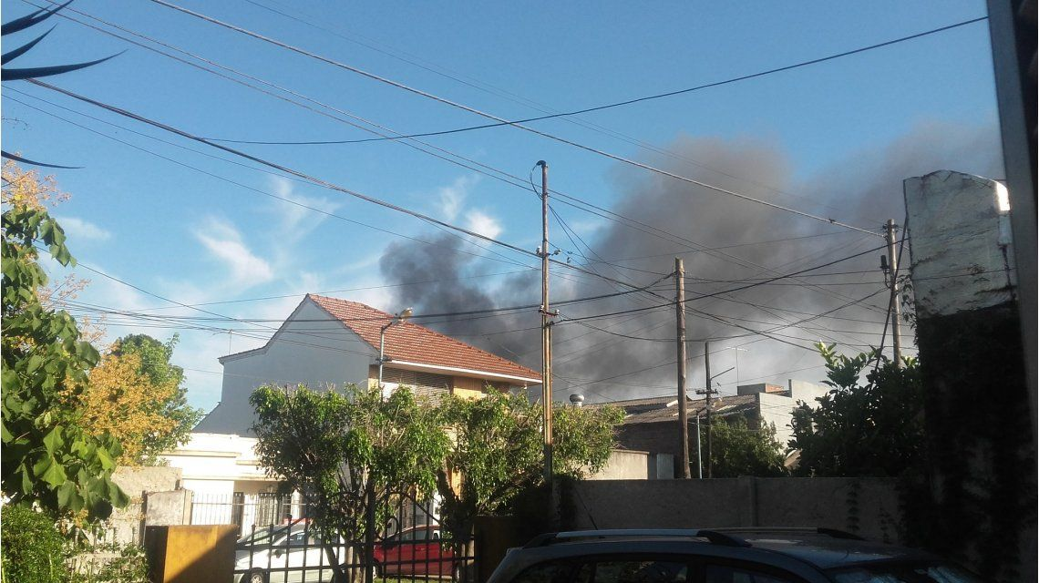 Incendio en Bernal