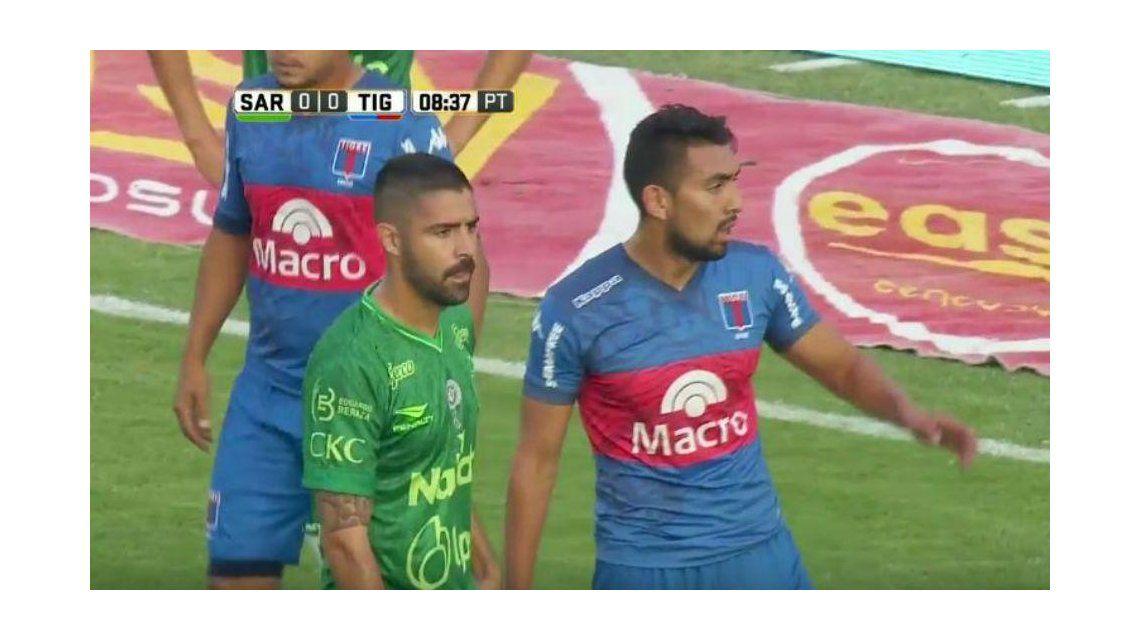 Sarmiento y Tigre chocan en Junín