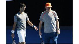 Becker dejó de ser el coach de Djokovic