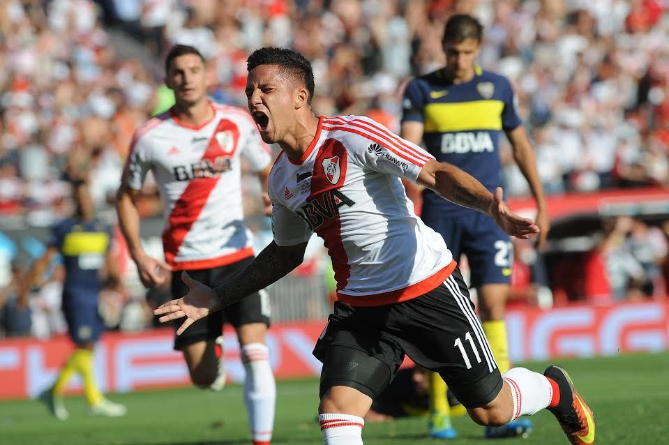 Mirá los goles de River en el Superclásico frente a Boca