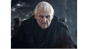 Murió Peter Vaughan, que brilló en Game of Thrones