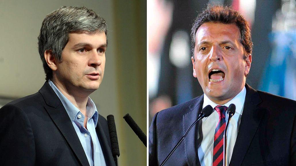 Marcos Peña no descarta un acuerdo con Massa por Ganancias.