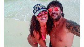 Pamela junto a su novio, Pipo Muñoz