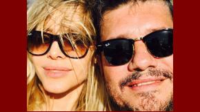Guile Valdés y Marcelo Tinelli, juntos tomando sol.