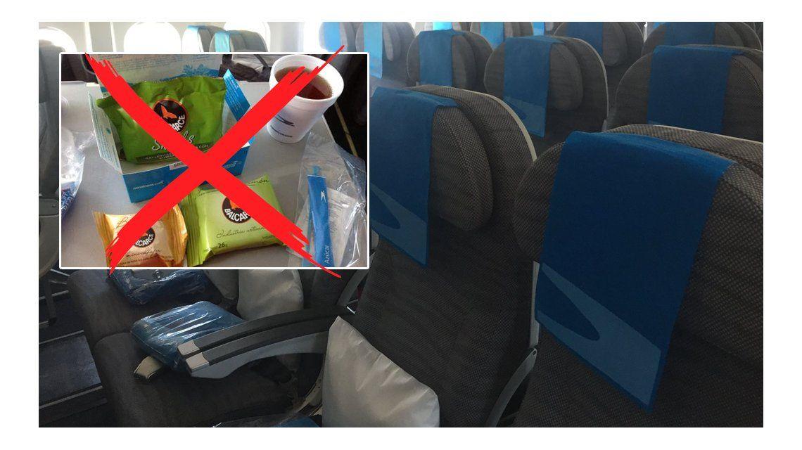 Chau snack: Aerolíneas se ajusta para pelear con las low cost