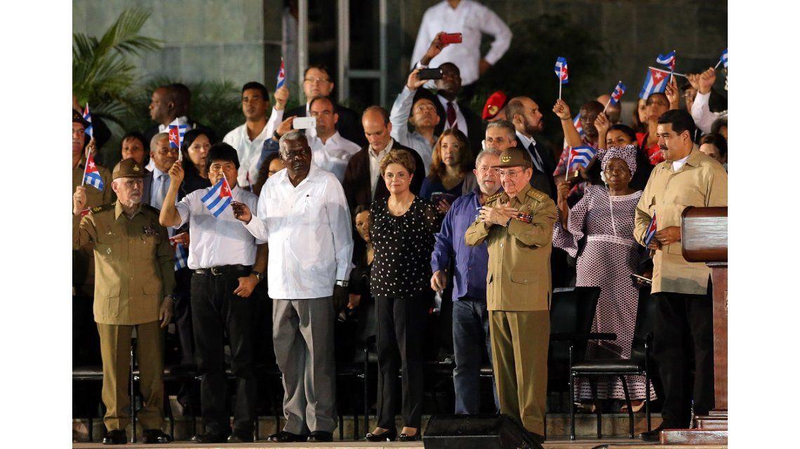 Despedida de los restos de Fidel Castro