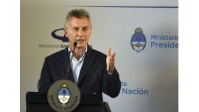Macri cargó contra la oposición a la que tildó de demagoga