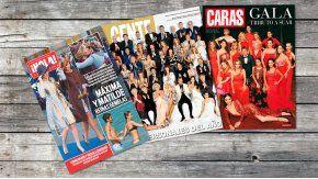 Adelanto de tapas de revistas
