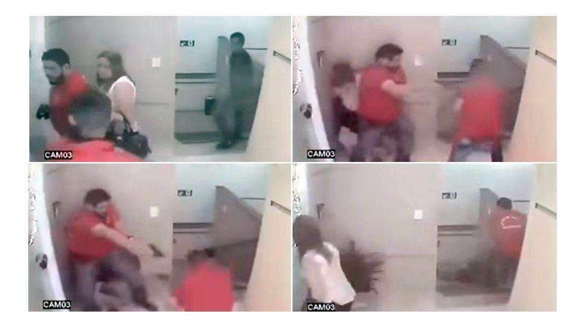 Un delicuente fue acribillado por un policía.