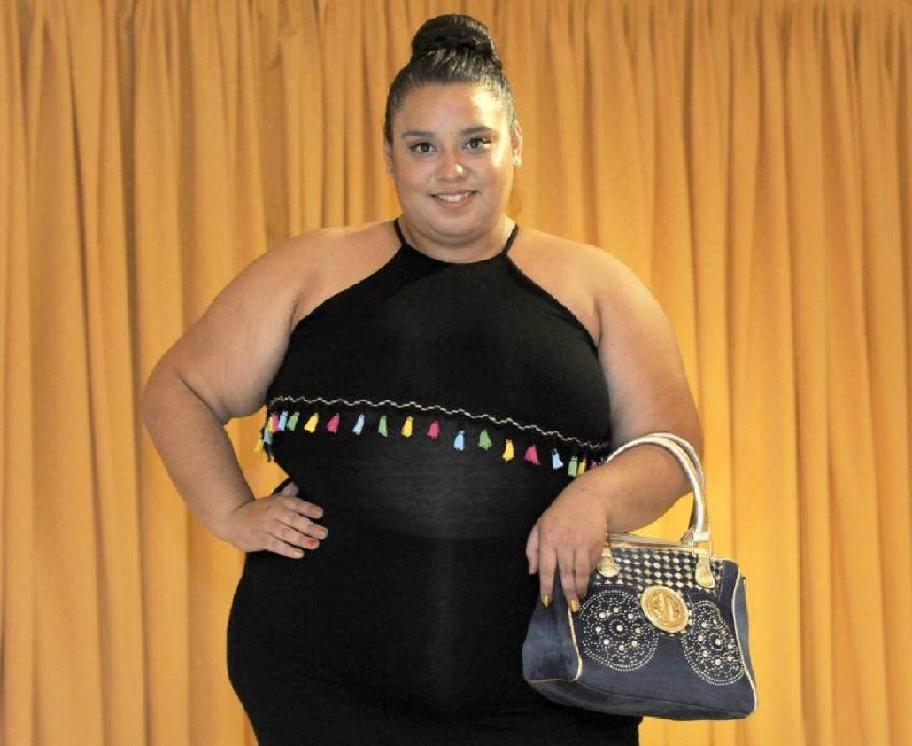 Una joven que pesa 122 kilos fue electa reina vendimial. Foto: diario Los Andes.