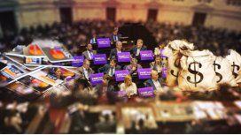 Tres leyes clave están frenadas por pelea entre Diputados y el Senado