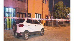 La vivienda de Carlos Santander, el colectivero asesinado frente a su nieto