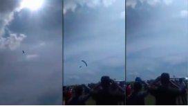Un político de Bolivia murió tras tirarse en paracaídas.