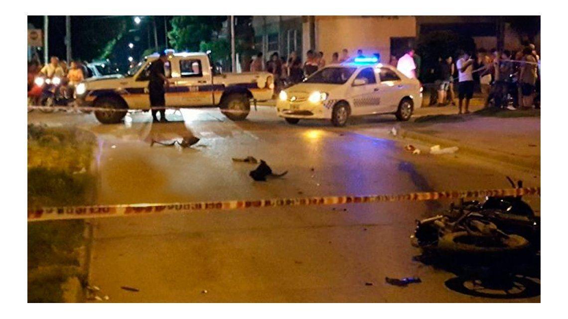 Un prefecto atropelló y mató a un repartidor de helados