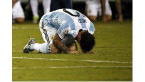 El llanto de Messi, uno de los momentos más recordados