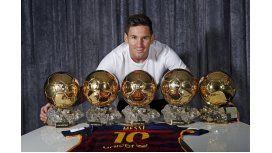 Messi va por su sexto Balón de Oro