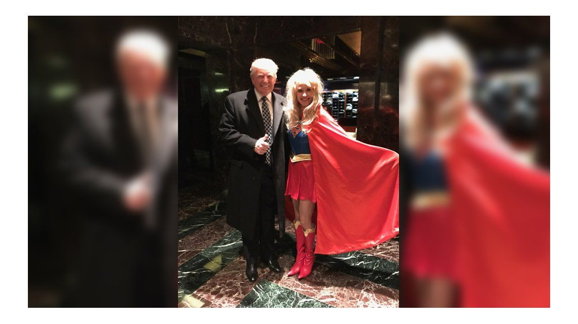 Donald Trump y ¿su disfraz?