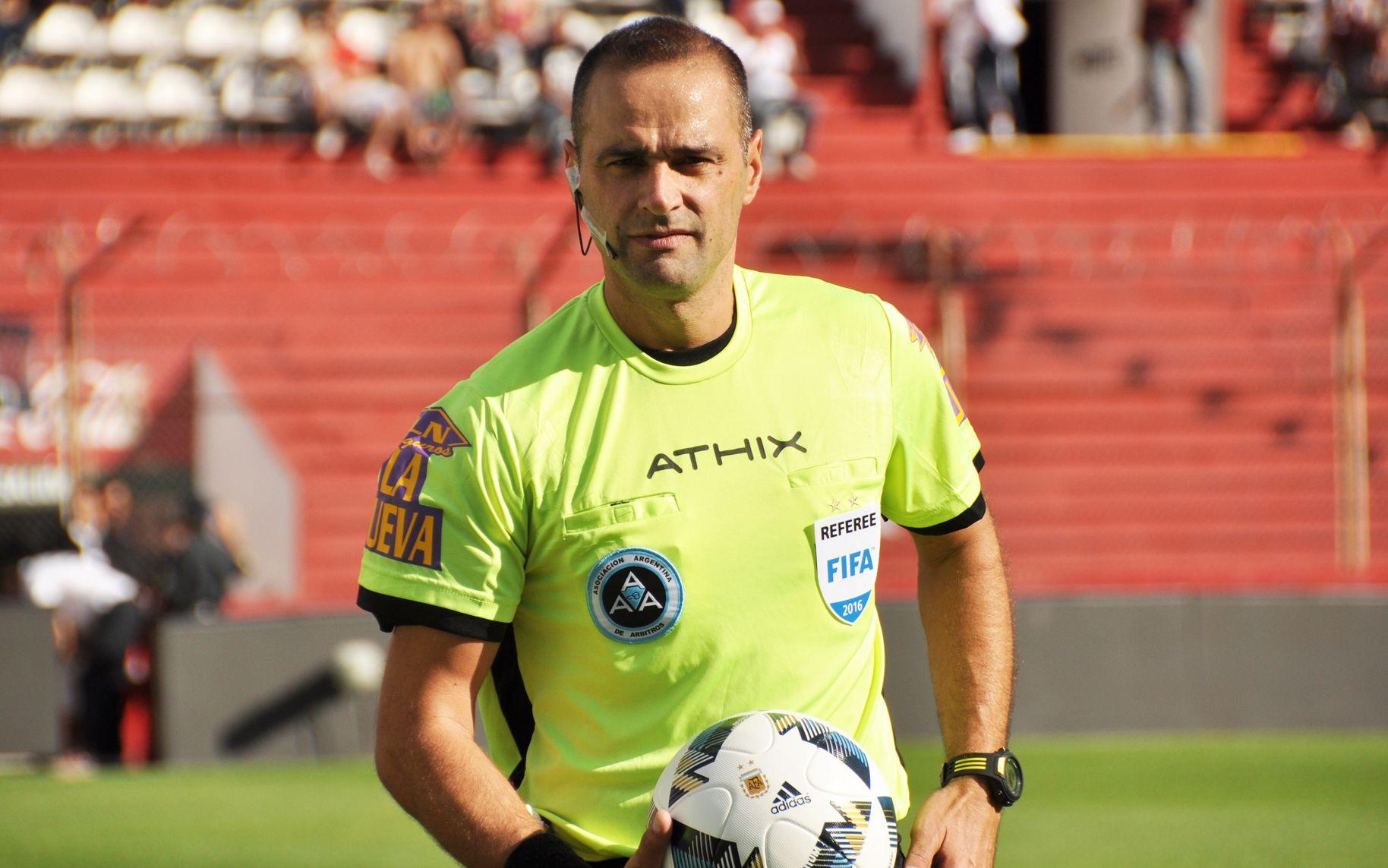 Diego Abal impartirá justicia en el clásico