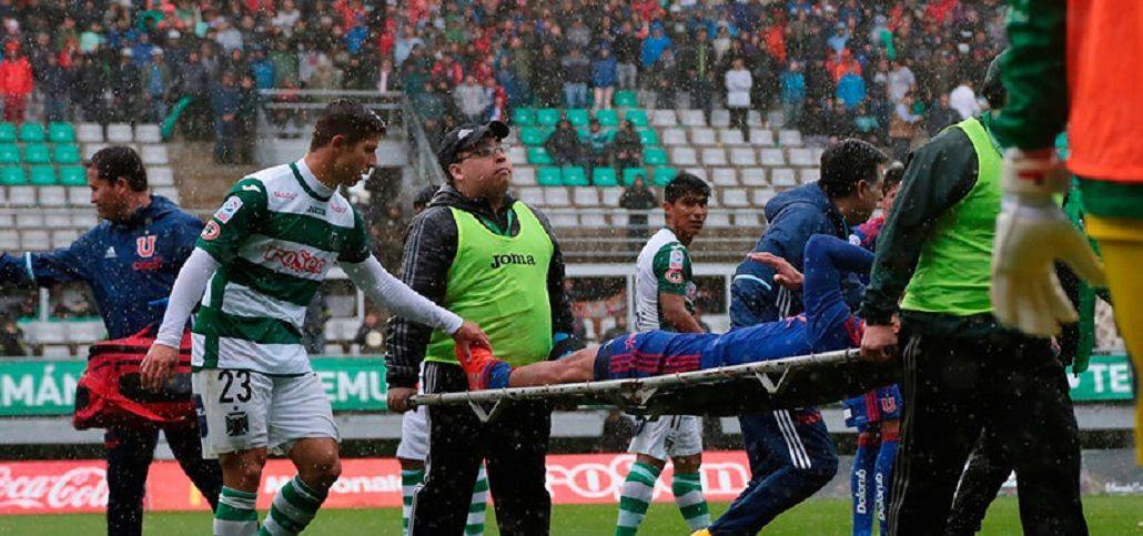 El argentino Jonathan Zacaría sufrió una grave lesión.