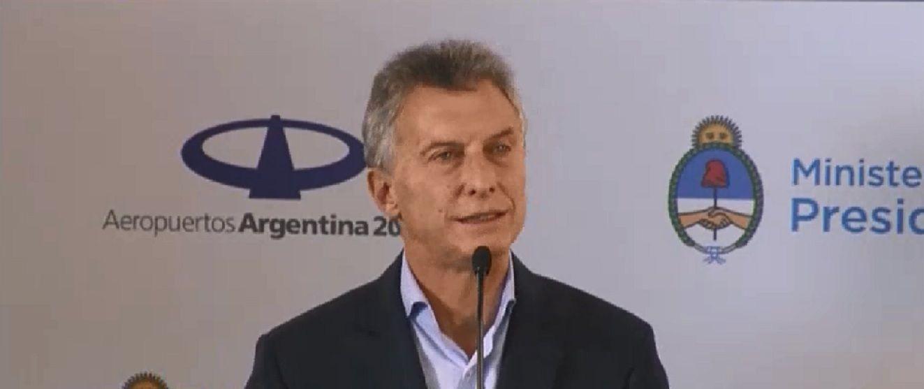 Macri apuntó contra Massa
