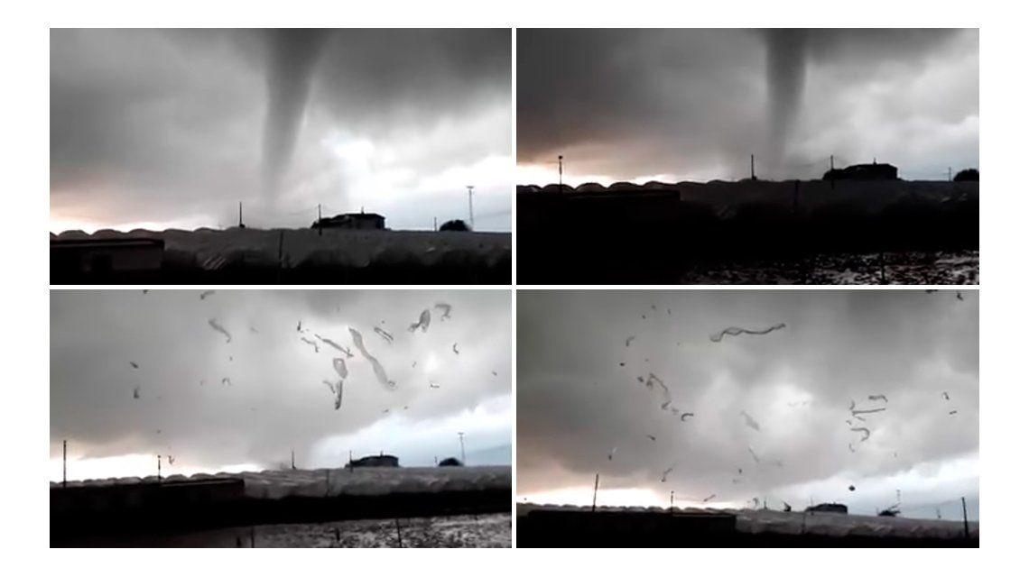 El impactante paso de tornado por el sur de espa a espa a - Tornados en espana ...