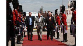 Bordet, Schiaretti y Lifschitz se reunieron en Córdoba