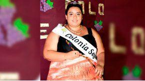 Una joven que pesa 122 kilos fue electa reina vendimial