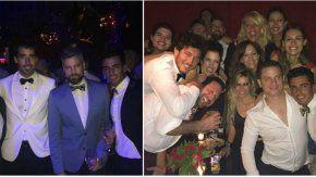 Pampita y Pico en la misma fiesta que Nacho Viale