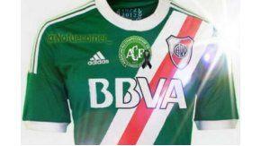 La camiseta que vestirá River ante Independiente por el campeonato local