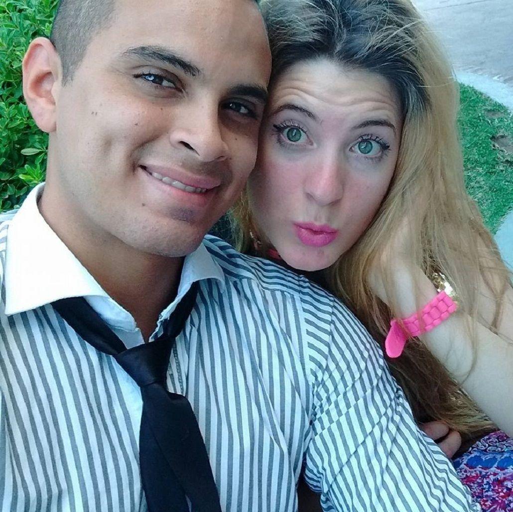 Esteban Acuña y Brenda Arnolettom