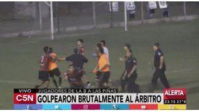 Agredieron al árbitro en el partido Sansinena vs Sarmineto de Ayacucho