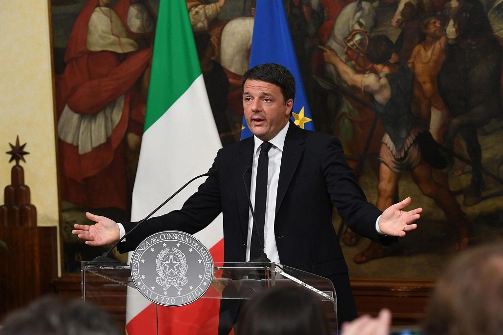 Renzi renunciará tras perder en el referéndum constitucional