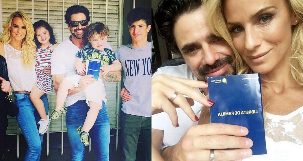 Sabrina Rojas y Luciano Castro se casaron