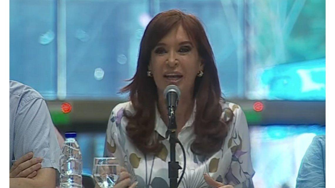 Cristina criticó el fallo del 2x1 de la Corte