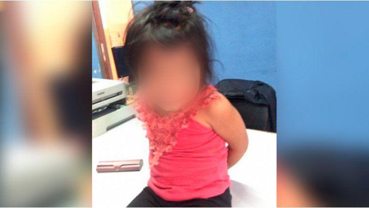 Una nena fue encontrada sola en una calle de Cipoletti.