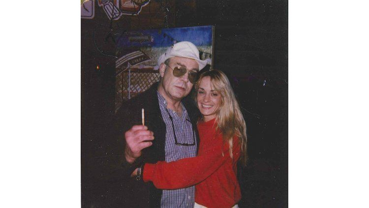 Hunter S. Thompson y su mujer