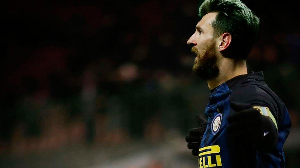 La Pulga con la camiseta del club de Milan...¿será posible?