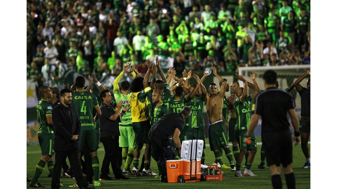 Chapecoense, el humilde equipo que sorprendió a toda Sudamérica