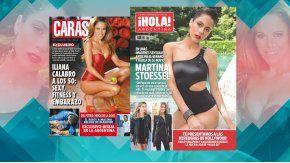 Tini Stoessel e Iliana Calabró, en las tapas de revistas